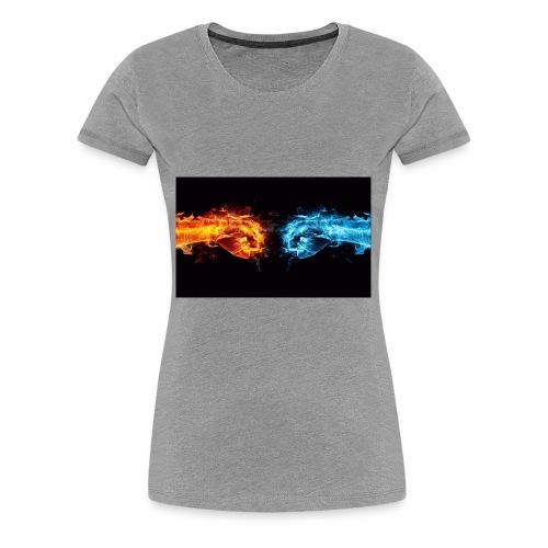 fire v water - Women's Premium T-Shirt