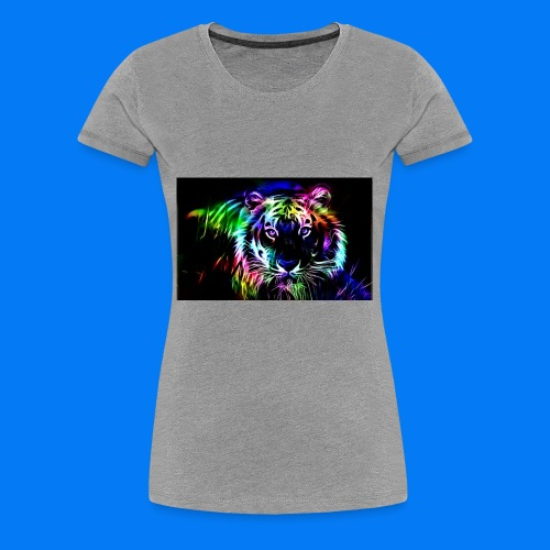 Rainbow tiger! - Women's Premium T-Shirt