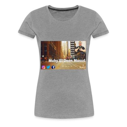 D1402D9A D27F 4BF8 ABDA 5FAC0DDFF405 - Women's Premium T-Shirt