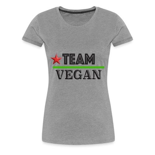 TEAM VEGAN - Women's Premium T-Shirt