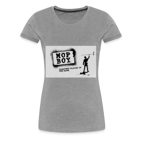 Cleanest Player White - Women's Premium T-Shirt