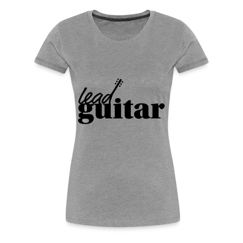 lead guitar - Women's Premium T-Shirt