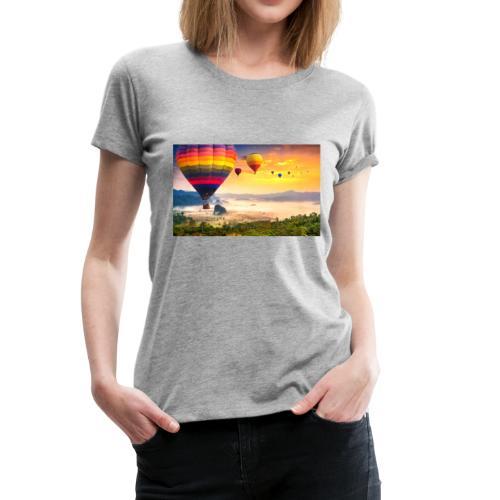 Balloon cruise - Women's Premium T-Shirt