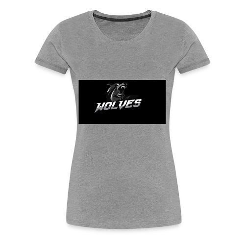 WOLVES - Women's Premium T-Shirt