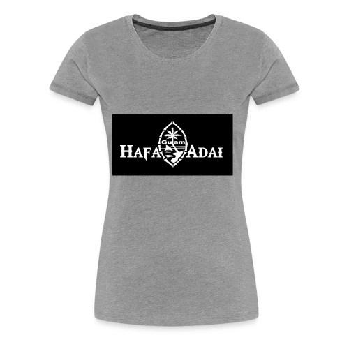 guam islander - Women's Premium T-Shirt