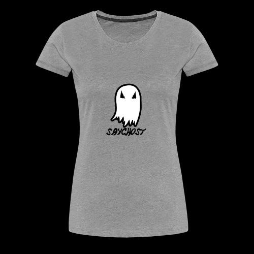 SayGhost Logo - Women's Premium T-Shirt