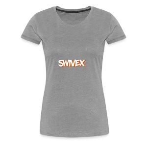W.O. swivex line - Women's Premium T-Shirt
