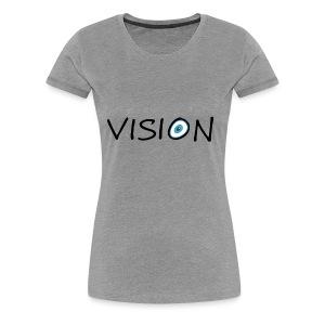 vison - Women's Premium T-Shirt