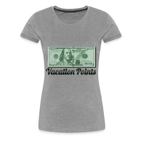 Vacation Points - Women's Premium T-Shirt