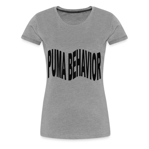Puma Behavior - Women's Premium T-Shirt