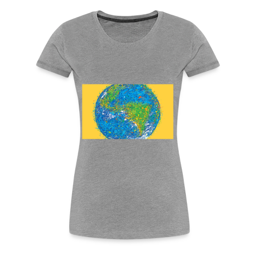 world - Women's Premium T-Shirt