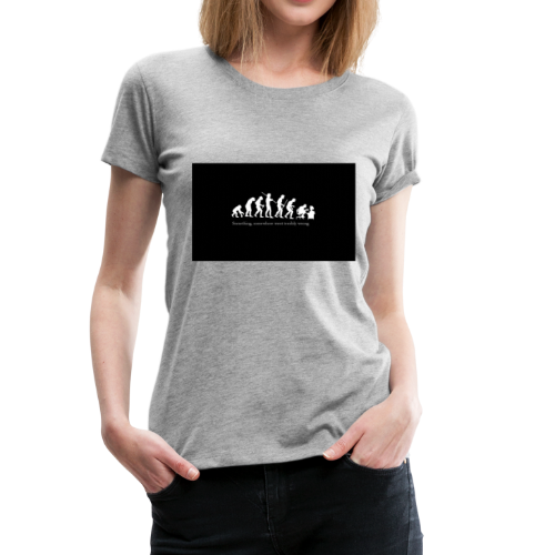 Gamer evolution - Women's Premium T-Shirt