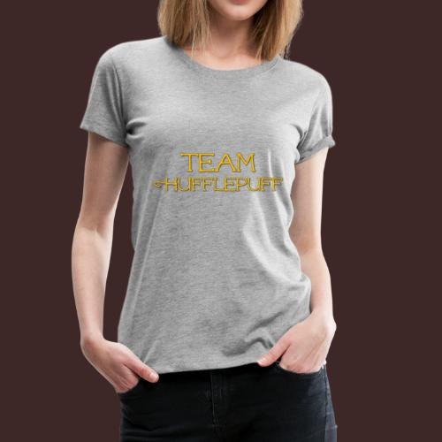 Team Hufflepuff - Women's Premium T-Shirt