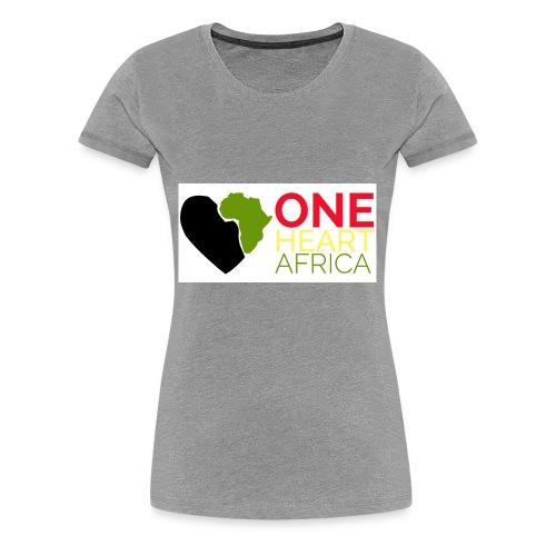ONE HEART AFRICA - Women's Premium T-Shirt