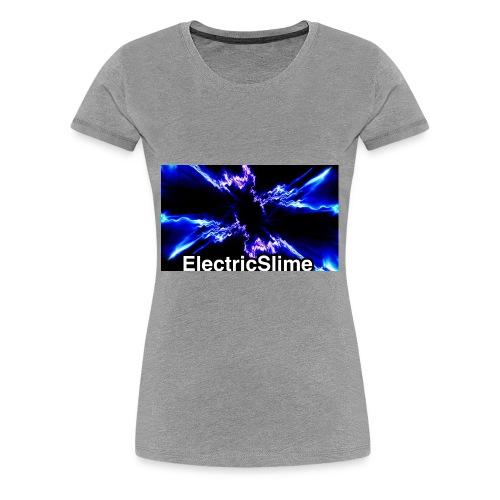 ElectricSlime Electricity Graphic - Women's Premium T-Shirt