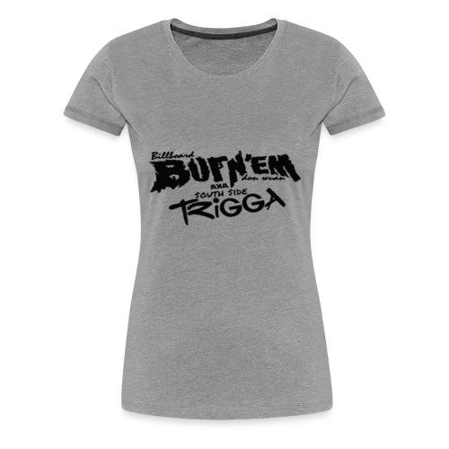 Billboard Burn'em Shirt - Women's Premium T-Shirt