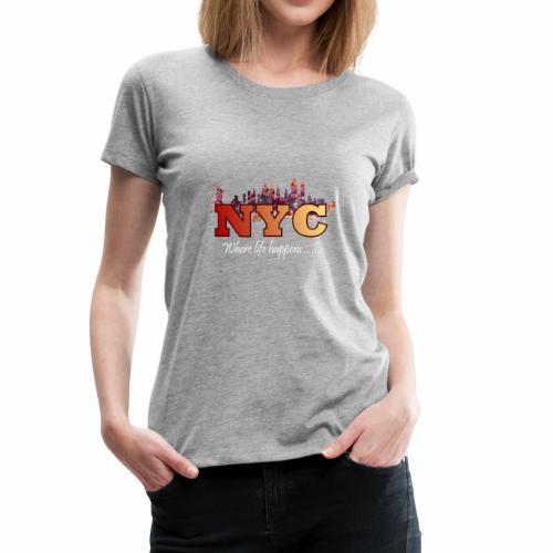 nyc splash - Women's Premium T-Shirt