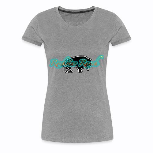 buffalo blacknturq - Women's Premium T-Shirt