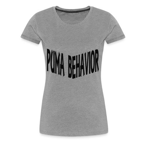 Puma Behavior 2 - Women's Premium T-Shirt