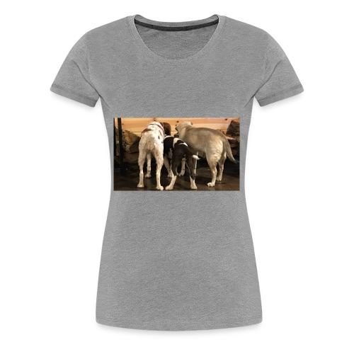 Curious Bird Dogs - Women's Premium T-Shirt