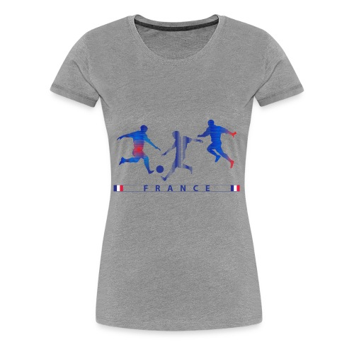 FRANCE - FRA 3 Players - Women's Premium T-Shirt