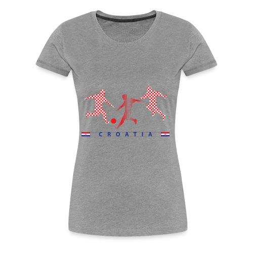 CROATIA - CRO - Women's Premium T-Shirt