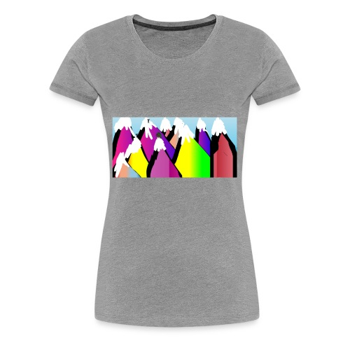LIVERUNFLY - Women's Premium T-Shirt