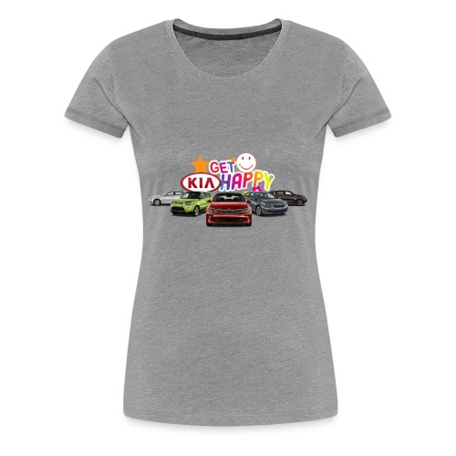 Get Kia Happy - Women's Premium T-Shirt