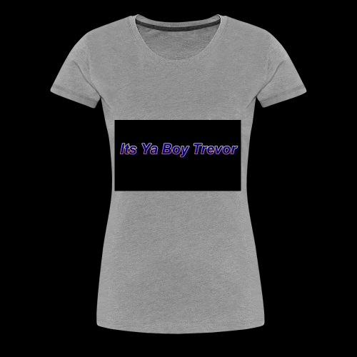 DARK ITSYABOYTREVOR - Women's Premium T-Shirt