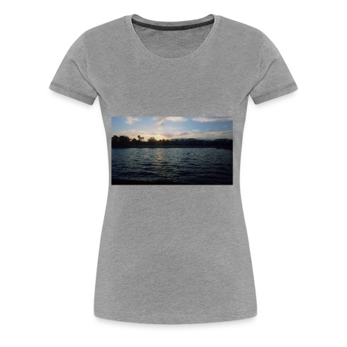 Pink Sunset - Women's Premium T-Shirt