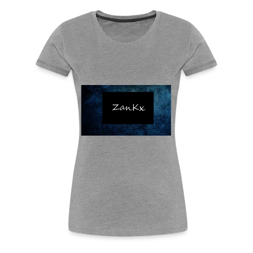 ZanKx Rounded - Women's Premium T-Shirt
