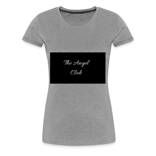 The Angel Club - Women's Premium T-Shirt
