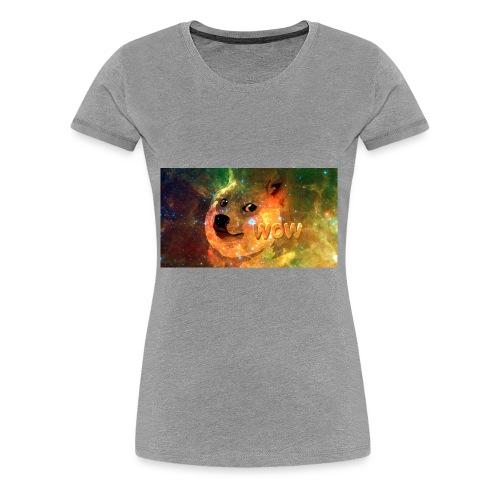 Wow Doge - Women's Premium T-Shirt