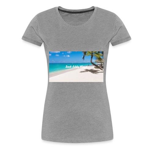 ZACK EDDY VLOGS - Women's Premium T-Shirt