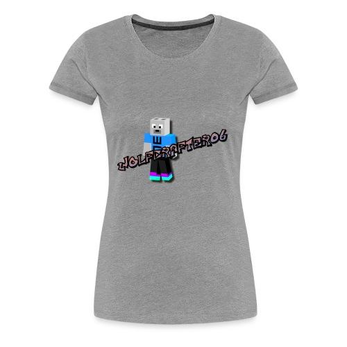 Wolfcrafter06 - Women's Premium T-Shirt