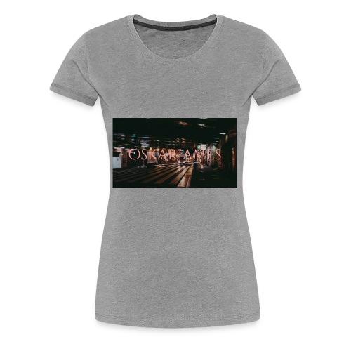 oskar james - Women's Premium T-Shirt