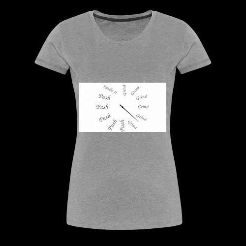 Hu$+|3 - Women's Premium T-Shirt