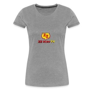 zzkidstv logo - Women's Premium T-Shirt