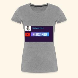 Mariama Playz Merch - Women's Premium T-Shirt