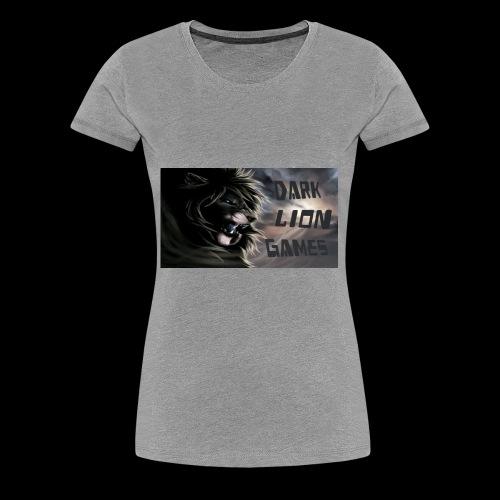 DarkLionGames - Women's Premium T-Shirt