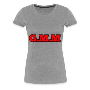 GOD MONEY MUSIC - Women's Premium T-Shirt