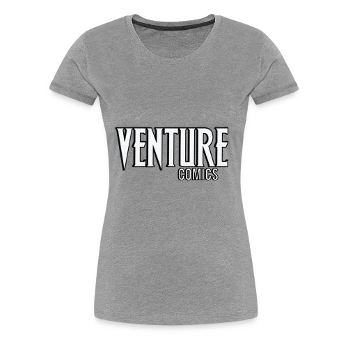 Venture Comics Logo - Women's Premium T-Shirt
