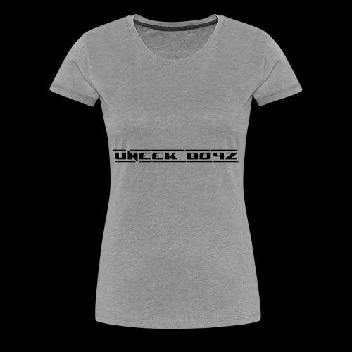 Uneek Boyz 2 - Women's Premium T-Shirt