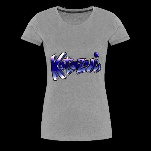 Katazui Header Logo - Women's Premium T-Shirt