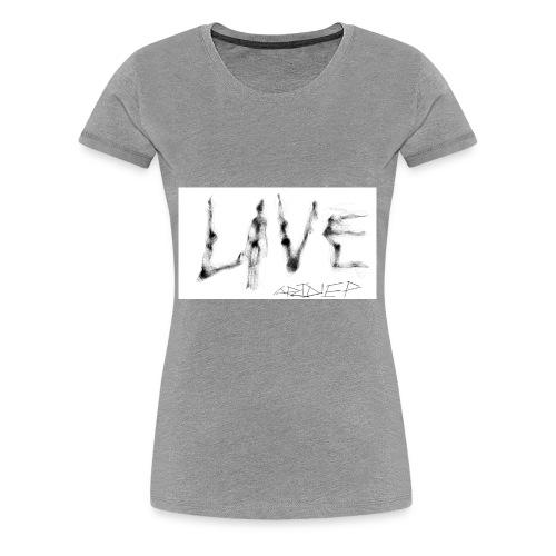 LIVE t-shirt - Women's Premium T-Shirt