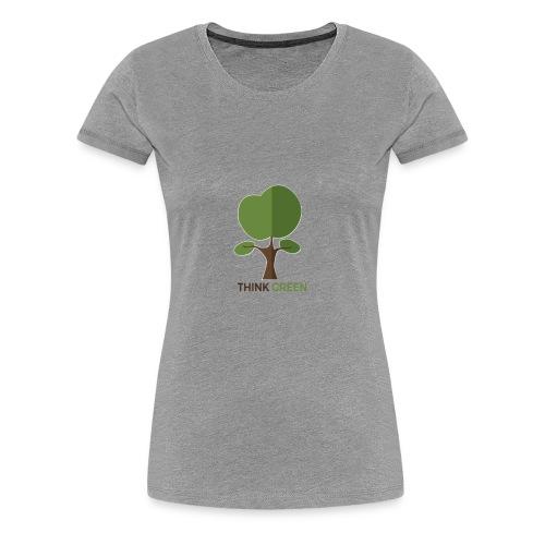 Think Green (naturecontest) - Women's Premium T-Shirt