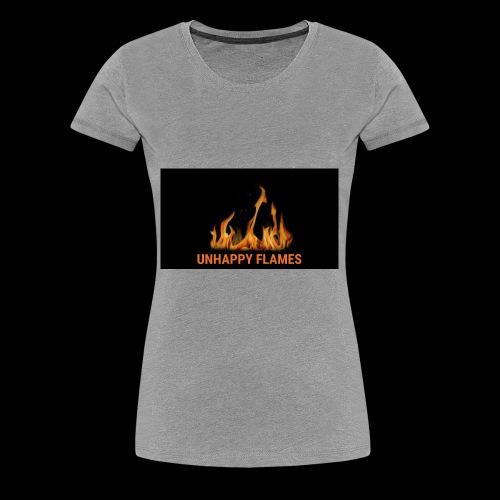 unhappy flames - Women's Premium T-Shirt