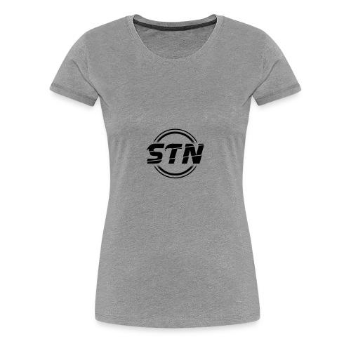 STN Black - Women's Premium T-Shirt