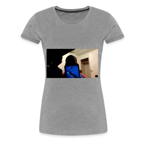 i'm always on my phone - Women's Premium T-Shirt