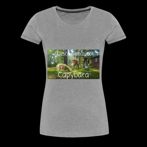 Capybara - Women's Premium T-Shirt